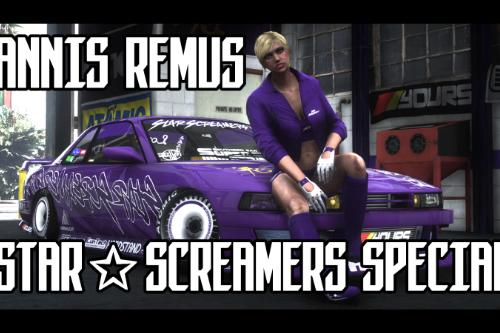 Annis Remus, Star Screamers Special | Drift Handling