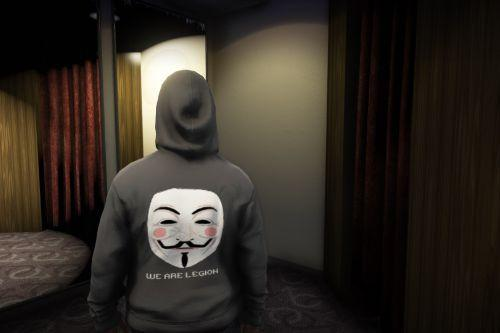 Anonymous Hoodie for MP Male and Female