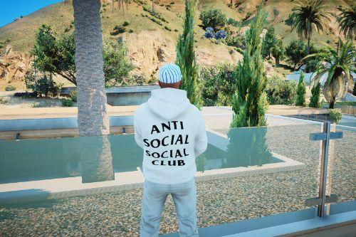 Anti Social Club Hoodies for MP Male and Female