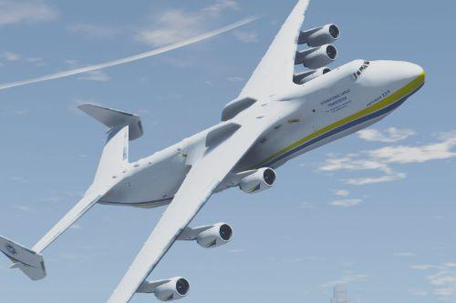Antonov AN-225 Mriya (largest plane in the world) [Add-On]
