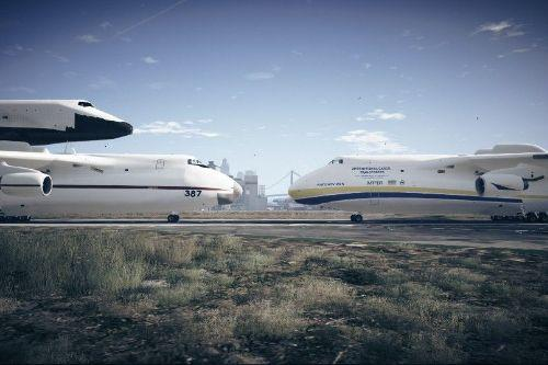 Antonov An-225 Twin Pack [Add-On Pack]
