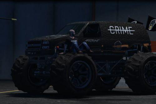 ApeCrime Monster Truck Paintjob