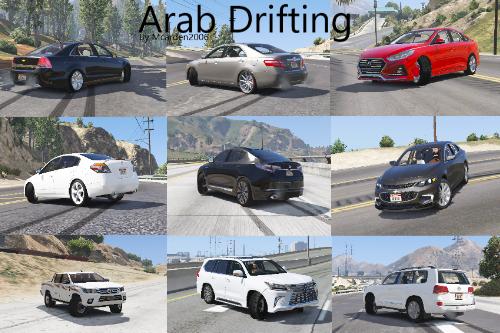 A77070 arabdrifting
