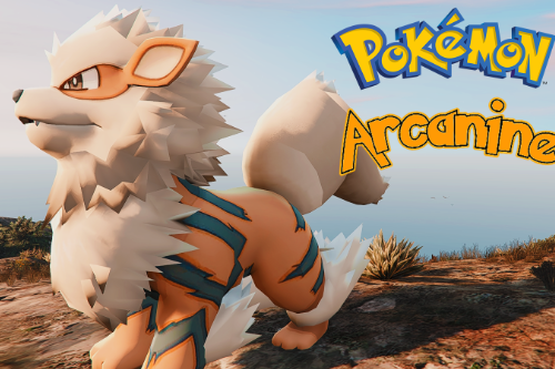 [Discontinued] Arcanine (Playable Pokemon)