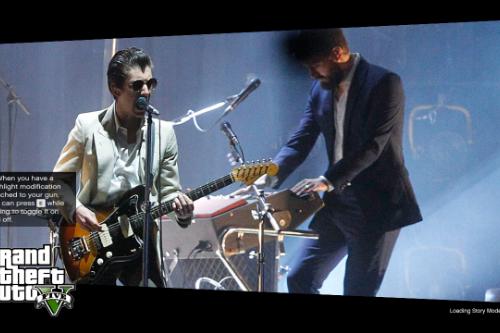 Arctic Monkeys Loading Screens