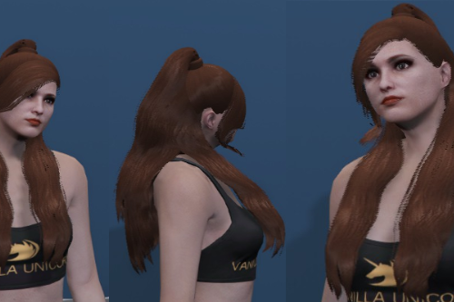 Ariana Ponytail Hair - Custom haircut for MP Female [SP / FiveM]