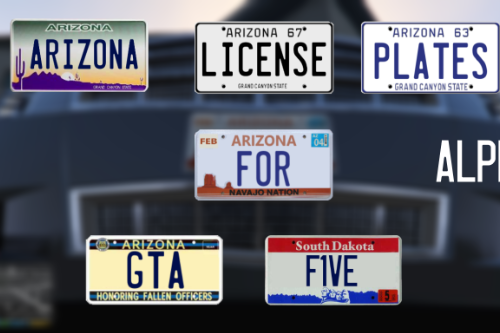 Arizona License Plates