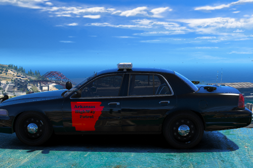 Arkansas State Trooper 2011 cvpi Livery