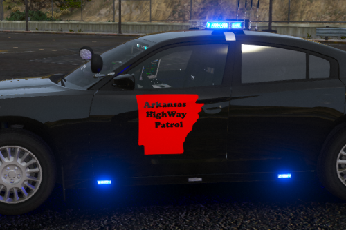 Arkansas State Trooper K9 Charger All Blues Livery