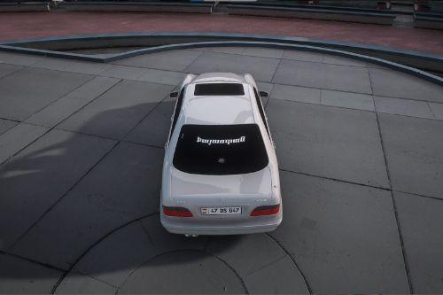 Armenian Mercedes-Benz E Class W210
