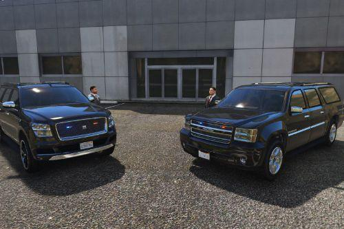 Armored SUV VIP transporter [Add-On]