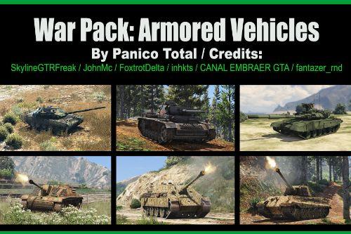 97845c war pack  armored vehicles