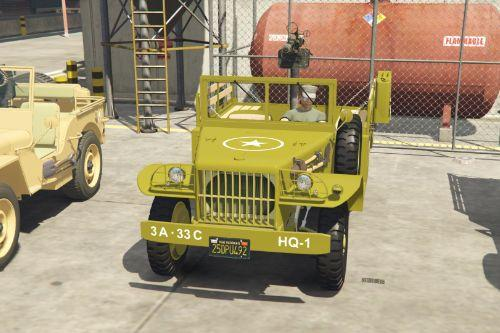 Army Jeeps and Artillery Trailers Pack