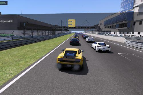 ARS Racetracks for Nurburgring and Lakeside Run