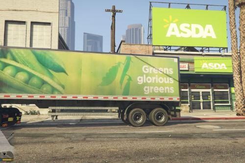 967435 asda truck and store