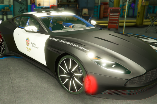 Aston Martin DB11 Los Angeles Police Dept. (LAPD) Edition |LODS|4K Skin