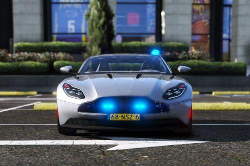 Aston Martin DB11 Police / Politie Unmarked [ELS | Replace]