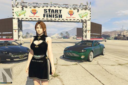 Aston Martin Dress for Mai Shiranui