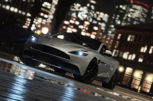 2013 Aston Martin Vanquish [Add-On / Replace]