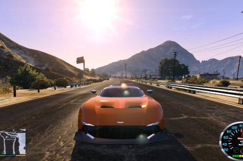Aston Martin Vulcan - Handling