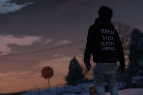 "ASTROWORLD ""WISH YOU WERE HERE HOODIE"""