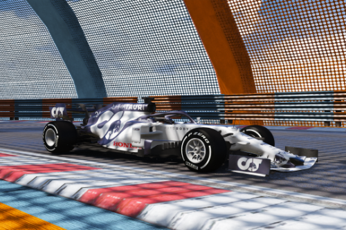 AT01 Scuderia Alpha tauri 2020 Formula One F1 [Add-on | livery]