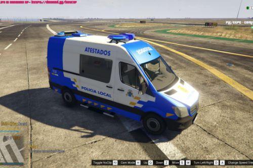 🇮🇨 Atestados Policia Local Canaria 2014 Mercedes Sprinter W906 (Canary Islands Police) [Replace/ELS]