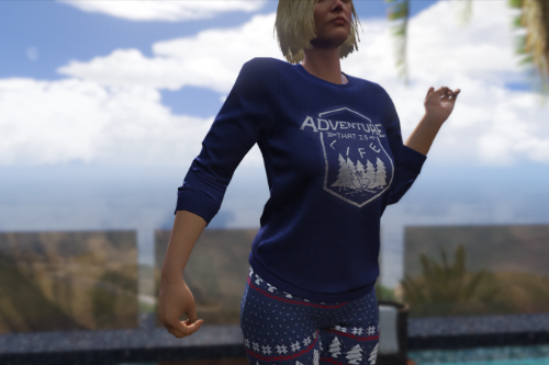 ATIL Sweater Texture for Female MP