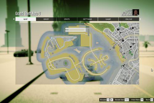 Atlas / GTA 5 Style Map with Radar for Dubai Islands