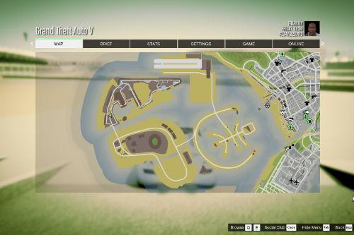 Atlas / GTA 5 Style Map with Radar for Dubai Islands (both versions)