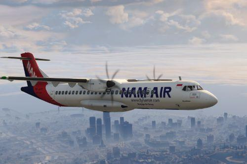 ATR 72 - 600/500 INDONESIA LIVERY PACK (TEXTURES)