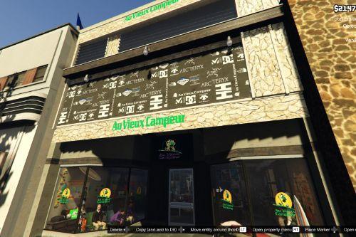Au Vieux Campeur Sport Store in LS (Retexture)