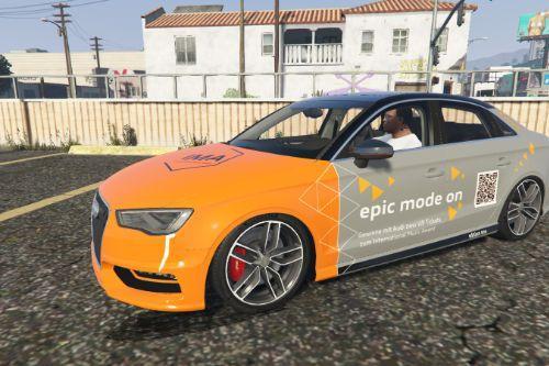Audi A3 / S3 Sedan Livery Pack - International Music Award [Paintjob]