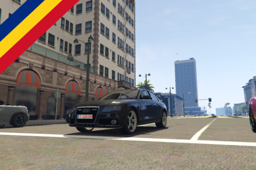 Audi A4 politia | [ELS] Unmarked