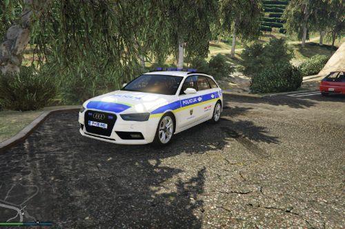 Audi A4 Slovenska Policija [FiveM / Replace / Skin]
