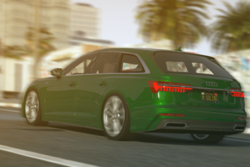 Audi A6 Avant 2019 [Add-On / Replace]
