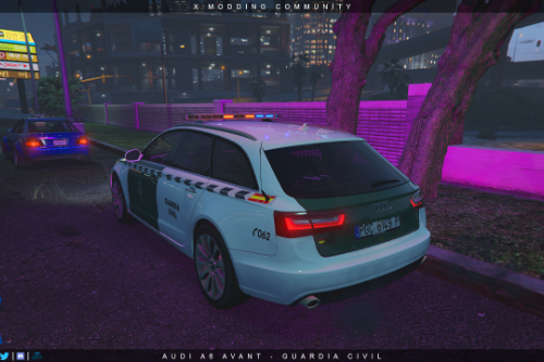 Audi A6 Avant - Guardia Civil [ELS]