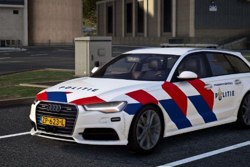 Audi A6 Avant Nederlandse Politie / Dutch Police [4K] [Reflective] [OOV Striping] [Dutch]