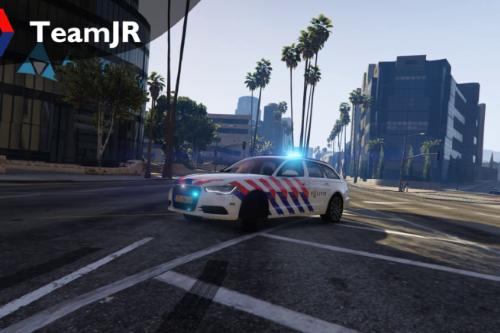 Audi A6 Avant Nederlandse Politie SIV [ELS]