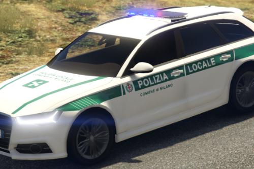 Audi A6 Avant - Polizia Locale di Milano [Replace]