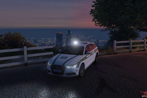 Audi A6 Avant Polizia Locale [Replace] [ELS]