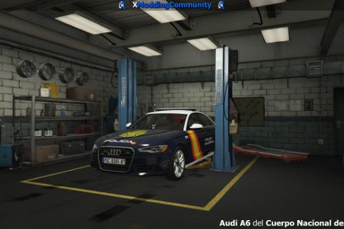 Audi A6 - Cuerpo Nacional de Policia (CNP) [ELS]