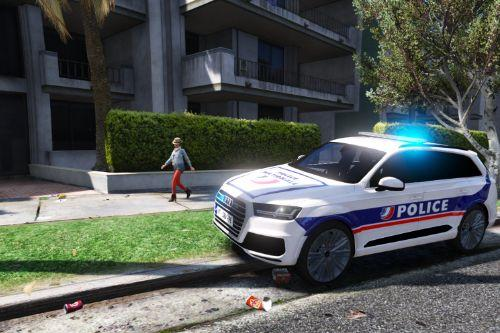 Audi Q7 French police - police nationale