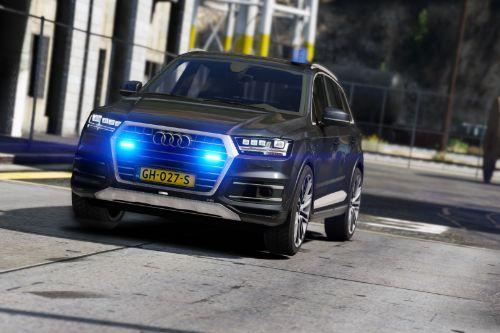 Audi Q7 Police / Politie Unmarked [ELS] [Add-On / Replace]