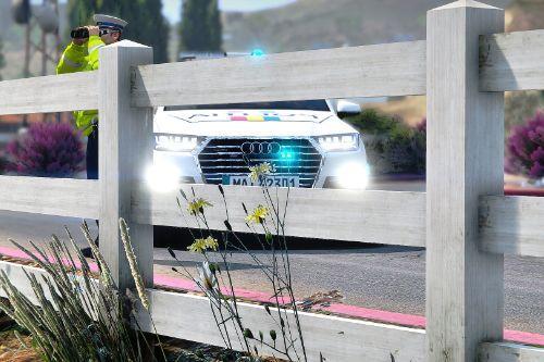 Audi Q7 Politia Romana ( Fictional )