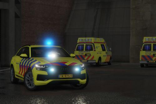 Audi Q8 Ambulance [Add-On | ELS]