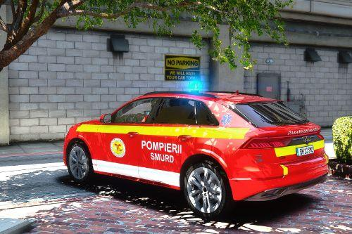 ELS Audi Q8 Romanian Ambulance SMURD ( Fictional )