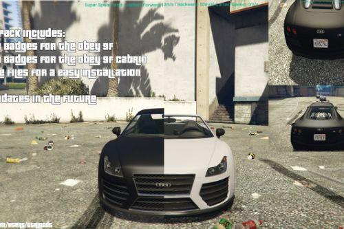 Audi R8 Pack for Obey 9F