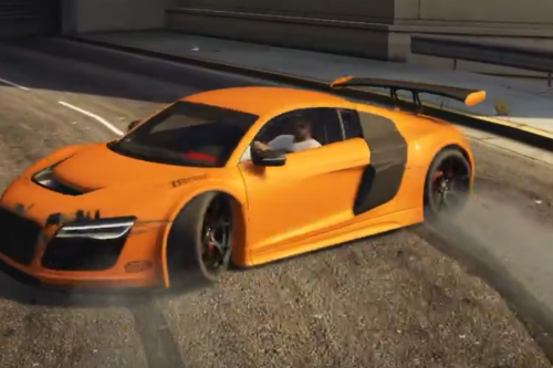 Audi R8 LMS Street Custom High Performance Drift Handling