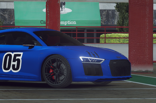 Audi R8 V10  05 Livery